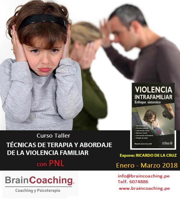 """Curso """"Técnicas De Terapia Y Abordaje De La Violencia Familiar Con PNL"""""""