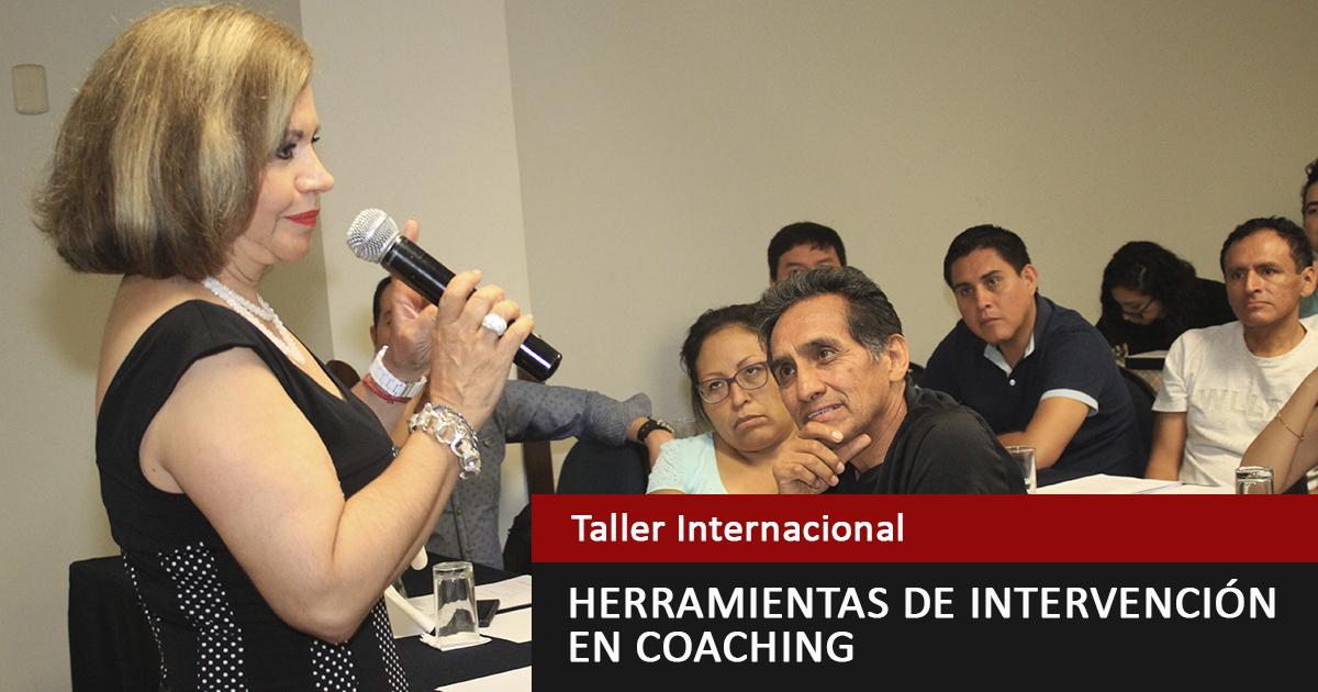 Taller Internacional: Herramientas De Intervención En Coaching